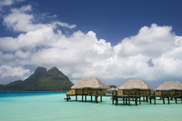 Pearl Beach Resort, Bora-Bora, Leeward group, Society Islands, French Polynesia, Pacific Islands, Pacific