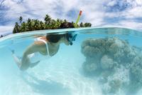 Tikehau, Tuamotu Archipelago, French Polynesia, Pacific Islands, Pacific 20025350324| 写真素材・ストックフォト・画像・イラスト素材|アマナイメージズ