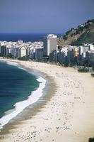 Copacabana beach, Rio de Janeiro, Brazil, South America 20025350353| 写真素材・ストックフォト・画像・イラスト素材|アマナイメージズ