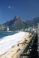 Ipanema beach, Rio de Janeiro, Brazil, South America 20025350354| 写真素材・ストックフォト・画像・イラスト素材|アマナイメージズ