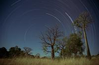 Star trails, Kimberley, Western Australia, Australia, Pacific 20025350982  写真素材・ストックフォト・画像・イラスト素材 アマナイメージズ