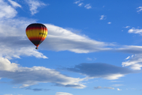 Hot air balloon, Christchurch, Canterbury, South Island, New Zealand, Pacific