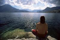 Landscape, Lago Atitlan (Lake Atitlan), Guatemala, Central America 20025351166| 写真素材・ストックフォト・画像・イラスト素材|アマナイメージズ