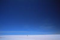 Vast sky above salt desert, Salar de Uyuni, Bolivia, South America 20025351201| 写真素材・ストックフォト・画像・イラスト素材|アマナイメージズ