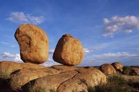 Boulders, Devil's Marbles Conservation Reserve, Northern Territory, Australia, Pacific 20025351353| 写真素材・ストックフォト・画像・イラスト素材|アマナイメージズ