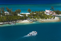 House on Paradise Island, Nassau, New Providence Island, Bahamas, West Indies, Central America
