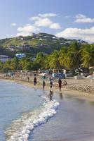 Frigate Bay Beach, St. Kitts, Leeward Islands, West Indies, Caribbean, Central America 20025351879| 写真素材・ストックフォト・画像・イラスト素材|アマナイメージズ