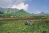 Daisetsuzan National Park in autumn, Hokkaido, Japan, Asia 20025353640| 写真素材・ストックフォト・画像・イラスト素材|アマナイメージズ