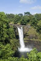 Rainbow Falls near Hilo, Island of Hawaii (Big Island), Hawaii, United States of America, North America