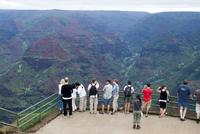 Waimea Canyon view, Kauai, Hawaii, United States of America, North America 20025357496| 写真素材・ストックフォト・画像・イラスト素材|アマナイメージズ
