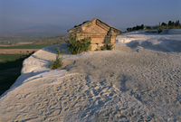 Pamukkale-Hierapolis, UNESCO World Heritage Site, Denizli province, Anatolia, Turkey, Asia Minor, Asia