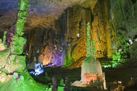 Zhijin Cave, the largest in China at 10 km long and 150 high, Guizhou Province, China, Asia 20025358601| 写真素材・ストックフォト・画像・イラスト素材|アマナイメージズ