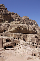 Nabatean tombs, Petra, UNESCO World Heritage Site, Jordan, Middle East