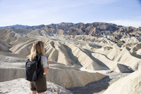 Zabriskie Point, Death Valley National Park, California, United States of America, North America