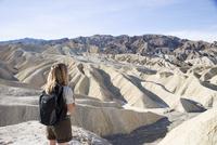 Zabriskie Point, Death Valley National Park, California, United States of America, North America 20025360400| 写真素材・ストックフォト・画像・イラスト素材|アマナイメージズ