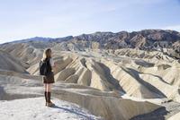 Zabriskie Point, Death Valley National Park, California, United States of America, North America 20025360401| 写真素材・ストックフォト・画像・イラスト素材|アマナイメージズ