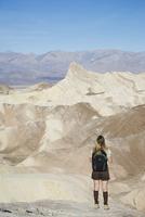 Zabriskie Point, Death Valley National Park, California, United States of America, North America 20025360402| 写真素材・ストックフォト・画像・イラスト素材|アマナイメージズ