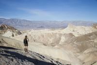 Zabriskie Point, Death Valley National Park, California, United States of America, North America 20025360403| 写真素材・ストックフォト・画像・イラスト素材|アマナイメージズ