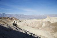 Zabriskie Point, Death Valley National Park, California, United States of America, North America 20025360404| 写真素材・ストックフォト・画像・イラスト素材|アマナイメージズ