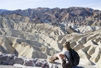 Zabriskie Point, Death Valley National Park, California, United States of America, North America 20025360405| 写真素材・ストックフォト・画像・イラスト素材|アマナイメージズ