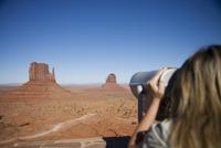 Monument Valley Navajo Tribal Park, Utah Arizona border, United States of America, North America 20025360412| 写真素材・ストックフォト・画像・イラスト素材|アマナイメージズ