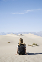 The Sand Dunes, Death Valley National Park, California, United States of America, North America