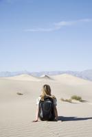 The Sand Dunes, Death Valley National Park, California, United States of America, North America 20025360430| 写真素材・ストックフォト・画像・イラスト素材|アマナイメージズ