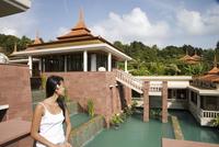 Thai woman, Trisara Resort, Phuket, Thailand, Southeast Asia, Asia