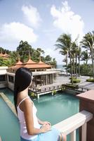 Thai woman, Trisara Resort, Phuket, Thailand, Southeast Asia, Asia 20025360502| 写真素材・ストックフォト・画像・イラスト素材|アマナイメージズ