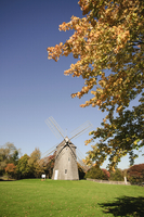 Old Hook Windmill, East Hampton, The Hamptons, Long Island, New York State, United States of America, North America 20025360824| 写真素材・ストックフォト・画像・イラスト素材|アマナイメージズ