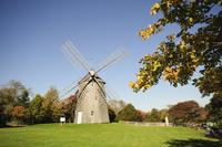 Old Hook Windmill, East Hampton, The Hamptons, Long Island, New York State, United States of America, North America 20025360825| 写真素材・ストックフォト・画像・イラスト素材|アマナイメージズ