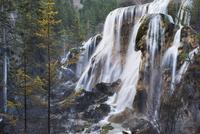 Waterfall, Jiuzhaigou National Park, UNESCO World Heritage Site, Sichuan Province, China, Asia 20025361243| 写真素材・ストックフォト・画像・イラスト素材|アマナイメージズ
