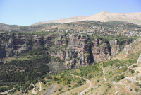 Wadi Qadisha (Holy Valley), UNESCO World Heritage Site, Qadisha Valley, Lebanon, Middle East 20025362003| 写真素材・ストックフォト・画像・イラスト素材|アマナイメージズ