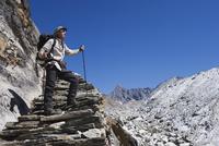 Gokyo, Solu Khumbu Everest Region, Sagarmatha National Park, Himalayas, Nepal, Asia 20025362309| 写真素材・ストックフォト・画像・イラスト素材|アマナイメージズ