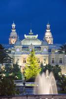 Monte Carlo Casino, Monte Carlo, Principality of Monaco, Cote d'Azur, Europe 20025362368| 写真素材・ストックフォト・画像・イラスト素材|アマナイメージズ
