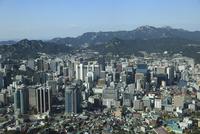 Overview of city, Seoul, South Korea, Asia 20025363190| 写真素材・ストックフォト・画像・イラスト素材|アマナイメージズ