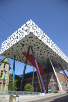 OCAD (Ontario College of Art and Design) building, school of art, McCall Street in downtown Toronto, Ontario, Canada, North Amer 20025363544| 写真素材・ストックフォト・画像・イラスト素材|アマナイメージズ
