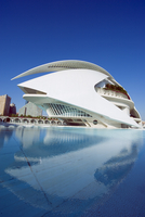 Palau de les Arts Reina Sofia, architect Santiago Calatrava,, City of Arts and Sciences, Valencia, Spain, Europe 20025363820| 写真素材・ストックフォト・画像・イラスト素材|アマナイメージズ