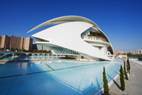 Palau de les Arts Reina Sofia, architect Santiago Calatrava, City of Arts and Sciences, Valencia, Spain, Europe 20025363821| 写真素材・ストックフォト・画像・イラスト素材|アマナイメージズ