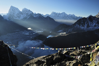 View from Gokyo Ri, 5357m, Gokyo, Sagarmatha National Park, UNESCO World Heritage Site, Solukhumbu District, Sagarmatha, Eastern 20025364003| 写真素材・ストックフォト・画像・イラスト素材|アマナイメージズ