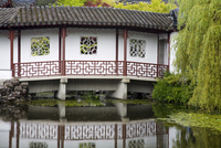 Dr. Sun Yat-Sen Classical Chinese Garden in Chinatown, Vancouver, British Columbia, Canada, North America