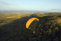 Paragliding in San Gil, adventure sports capital of Colombia, San Gil, Colombia, South America