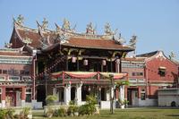 Cheah Kongsi Temple, George Town, UNESCO World Heritage Site, Penang, Malaysia, Southeast Asia, Asia