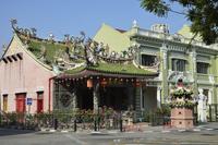 Khoo Kongsi Temple, George Town, UNESCO World Heritage Site, Penang, Malaysia, Southeast Asia, Asia