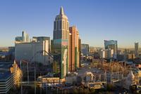 New York New York Hotel and Casino, Las Vegas, Nevada, United States of America, North America 20025366025| 写真素材・ストックフォト・画像・イラスト素材|アマナイメージズ