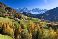 Mountains of the Geisler Gruppe/Geislerspitzen, Dolomites, Trentino-Alto Adige, Italy, Europe