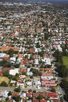 Aerial view of suburbs, Perth, Western Australia, Australia, Pacific 20025366416| 写真素材・ストックフォト・画像・イラスト素材|アマナイメージズ