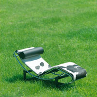 草原の中のリクライニングチェア 20027001019| 写真素材・ストックフォト・画像・イラスト素材|アマナイメージズ