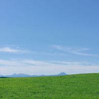 草原と青空 20027001024| 写真素材・ストックフォト・画像・イラスト素材|アマナイメージズ