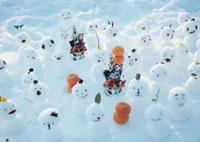 雪だるまの正月